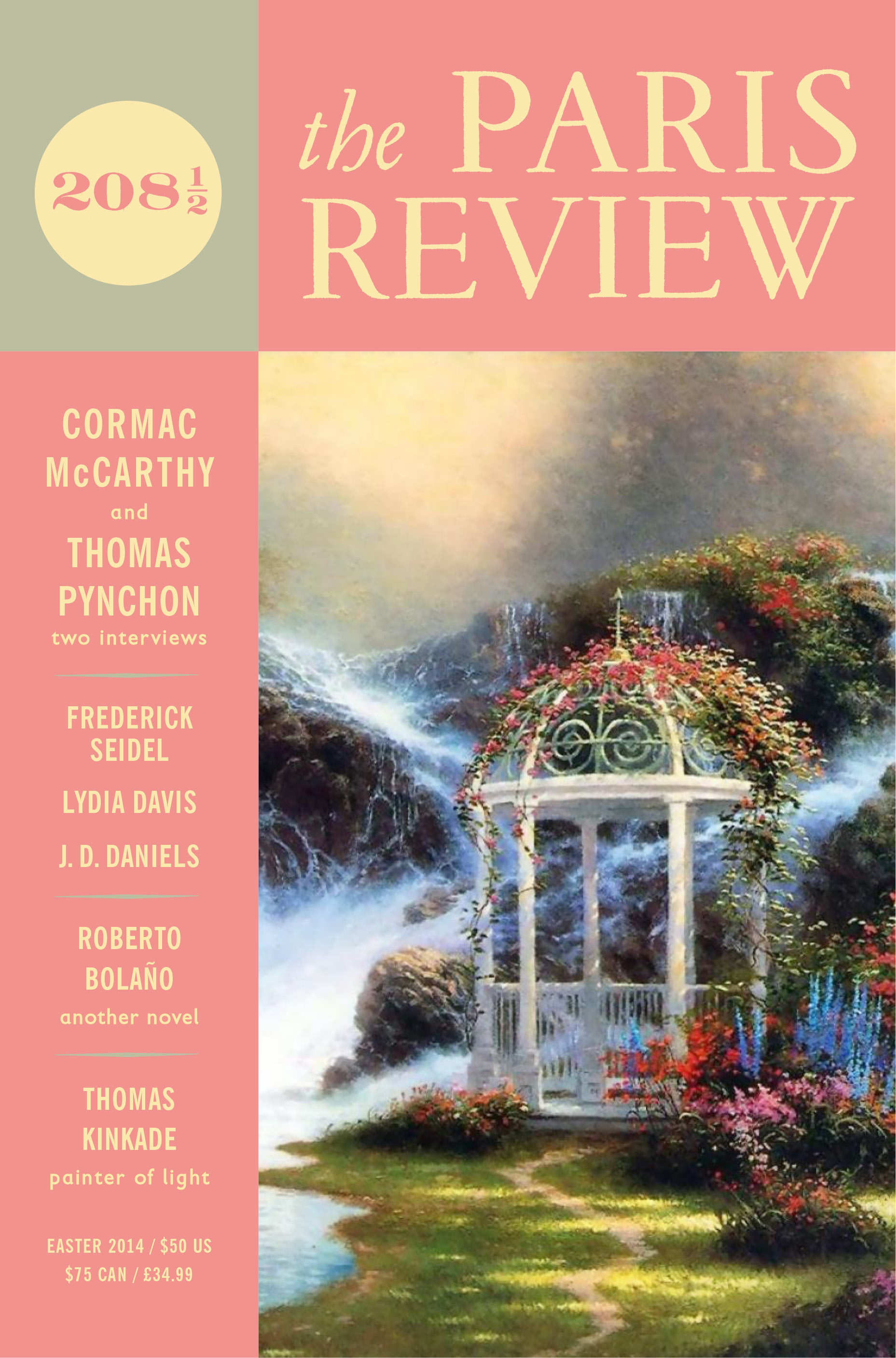 At Last! Spring Is Here, Easter Ising, And, As You Can See, The Latest  Issue Of The Paris Review Has Already Taken Its Pastels Out Of The  Closet—it's