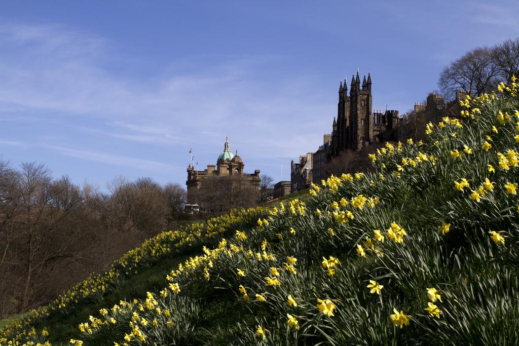 Marianna Saska, Edinburgh Castlehill in Spring