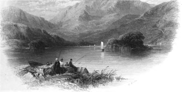 McGillicuddy's Reeks and the Upper Lake of Killarney