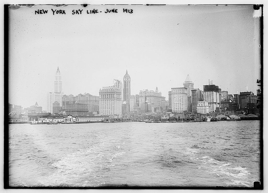 New_York_Skyline_-_June_1913_(LOC)