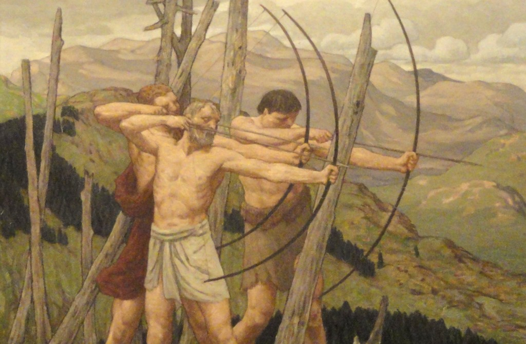 The_Archers_by_Bryson_Burroughs_-_Renwick_Gallery_-_DSC08383