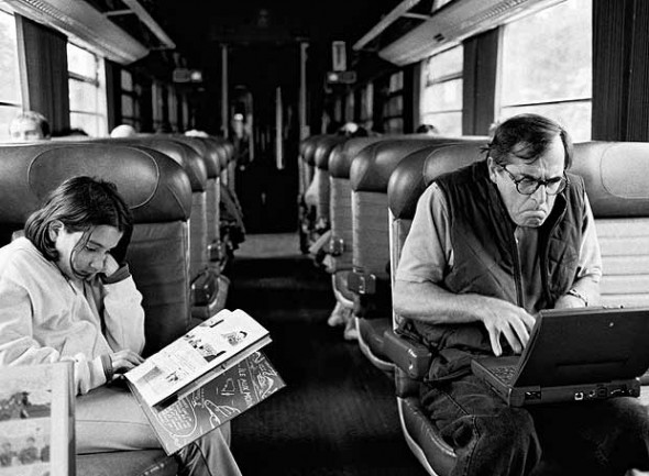 Theroux on Train
