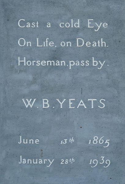 408px-Yeats_Tombstone_(3585068950)