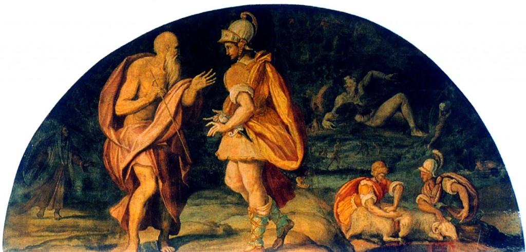 фреска возвращение одиссея репродукция рынке