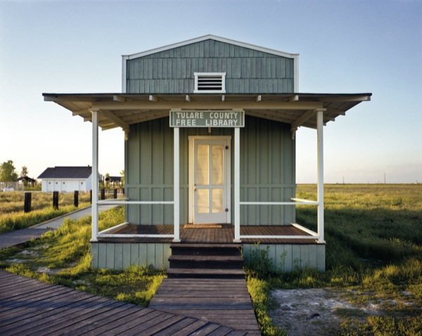 Library built by ex-slaves, Allensworth, CA