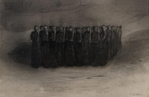 Alred Kubin black mass 1905