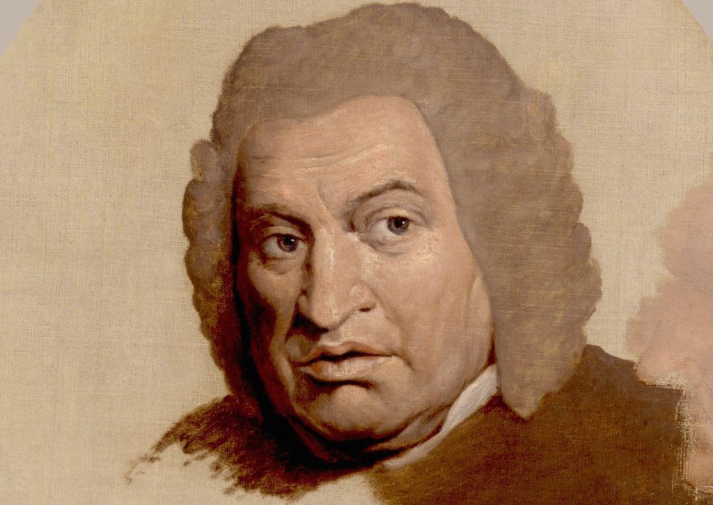 Samuel Johnson's portrait by James Barry