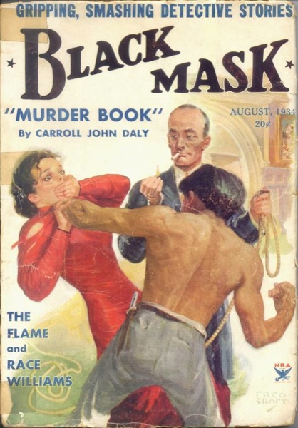 Black Mask August 1934