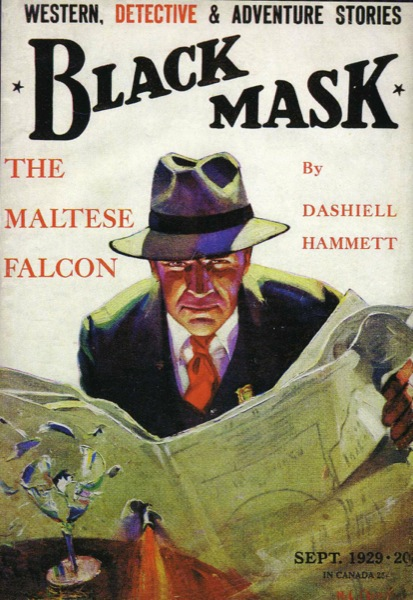 BlackMask Maltese Falcon