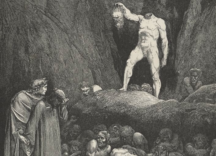 the punishment for every sin in dantes inferno