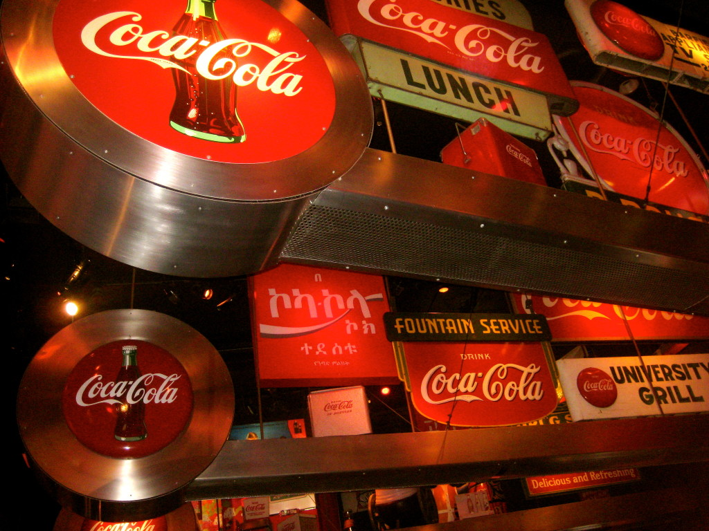 The Coca-Cola Museum in Atlanta, Georgia. Photo: Melizabethi123, via Wikimedia Commons