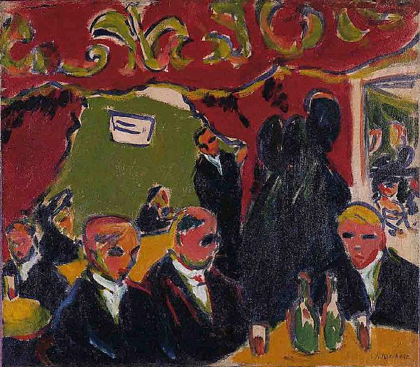 Ernst_Ludwig_Kirchner_-_Tavern 1909