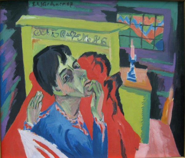 Ernst_Ludwig_Kirchner_Self portrait as a sick person_1918-1