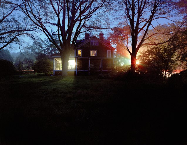The Roehrs House, Franklin Lakes, New Jersey, Corinne May Botz