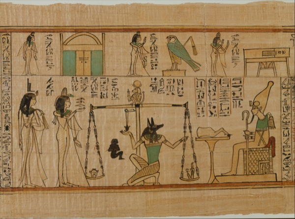 The Singer of Amun Nany's Funerary Papyrus