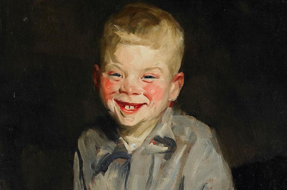 The_Laughing_Boy_by_Robert_Henri_-_BMA