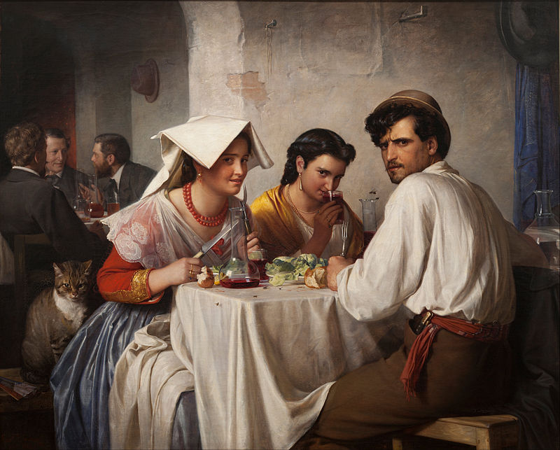 800px-Carl_Bloch_-_In_a_Roman_Osteria_-_Google_Art_Project