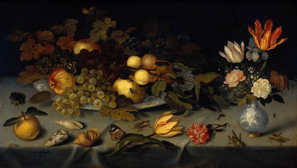 Balthasar_van_der_Ast_-_Flowers_and_Fruit_-_WGA1040