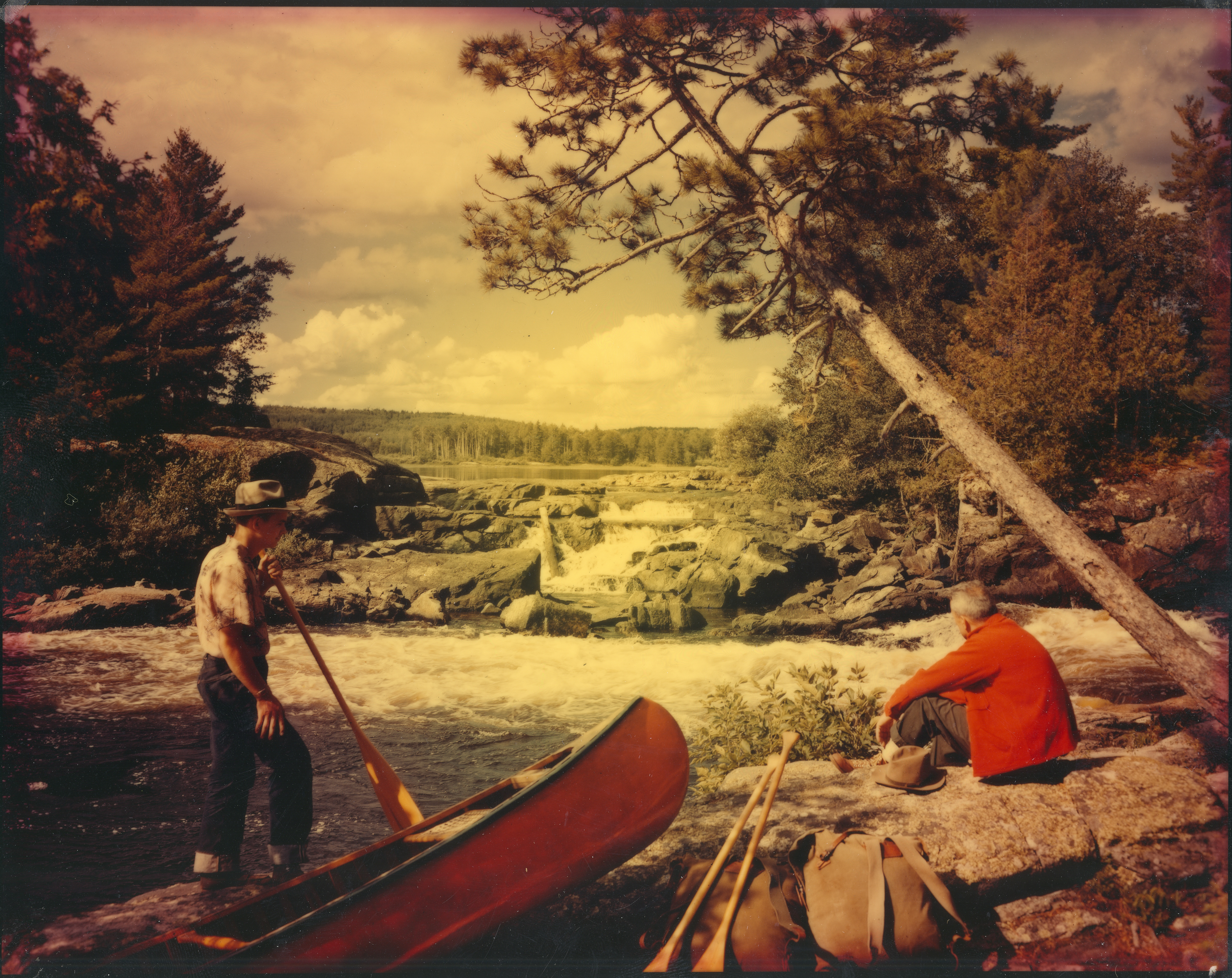 Ready_to_portage_around_Lower_Basswood_Falls,_07_1961_(5188003652)