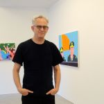 Hovering Hippie: In the Gallery with Gary Panter