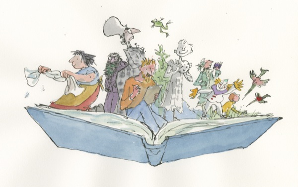 Quentin Blake - Inside Stories