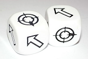 Scatter dice