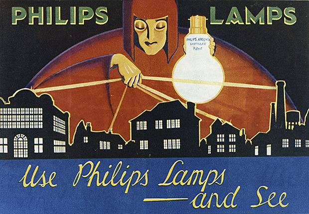 900304-05-02, Licht en lampen, Argenta, Etalagereclame met trans