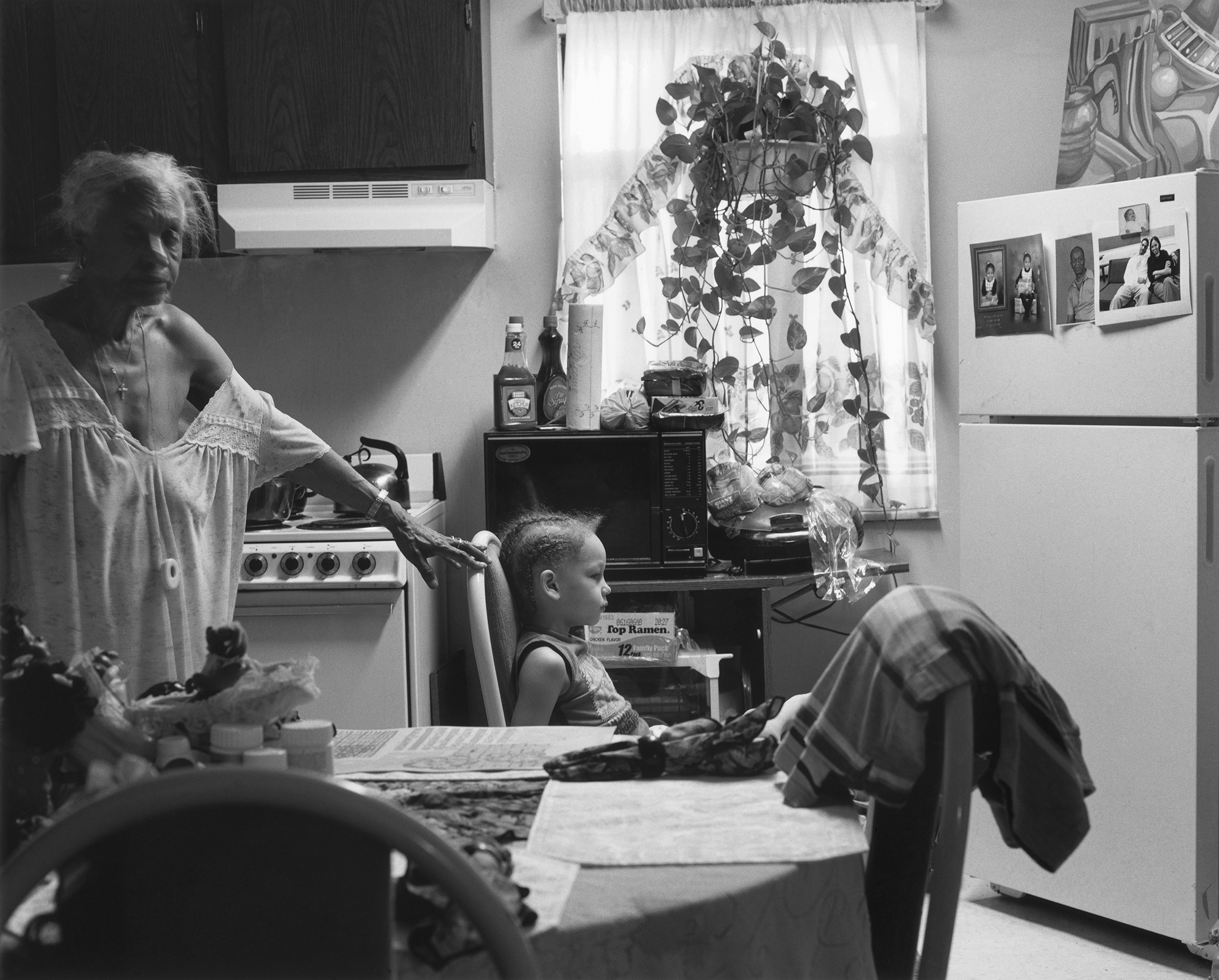 LaToya Ruby Frazier, Grandma Ruby and J.C. in Her Kitchen, 2006, from The Notion of FamilyLaToya Ruby Frazier, Grandma Ruby and J.C. in Her Kitchen, 2006, from The Notion of Family (Aperture, 2014)