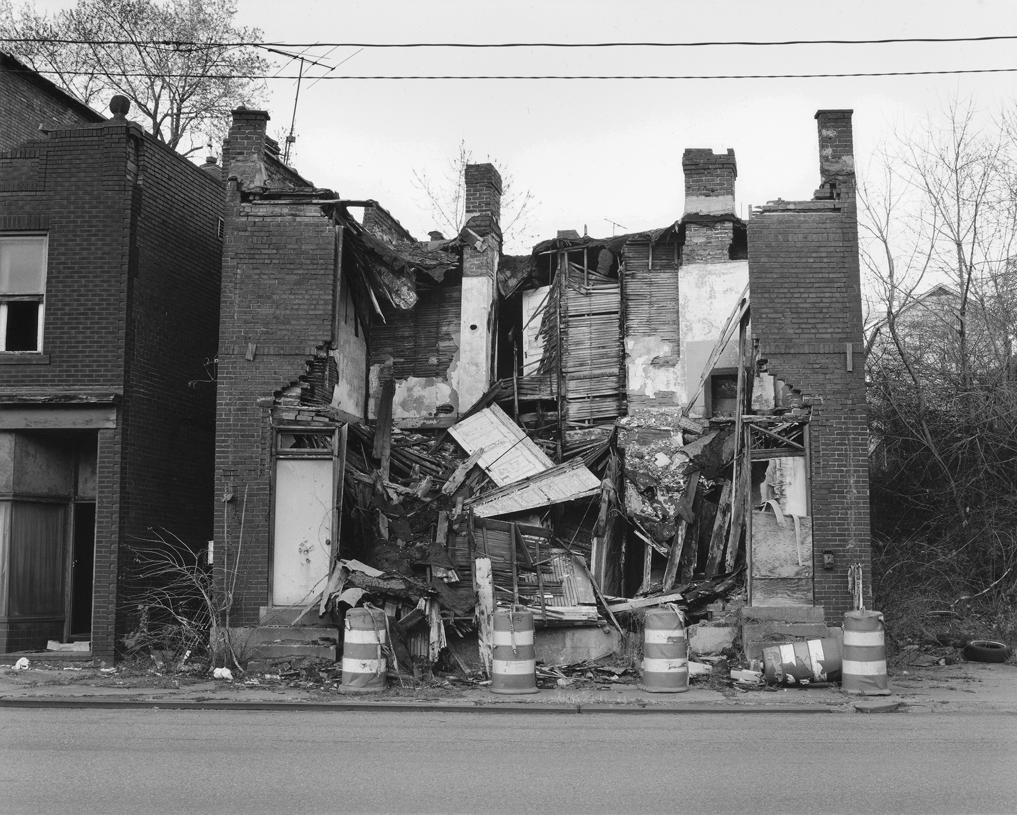 LaToya Ruby Frazier, Home on Braddock Avenue, 2007, from The Notion of Family (Aperture, 2014)