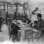 "Walt Whitman, ""Election Day, November, 1884"""