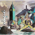 """At the Well"": Four Paintings by Neo Rauch"