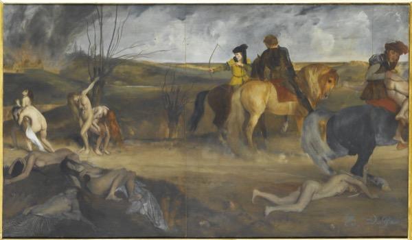 Degas_Scene de guerre