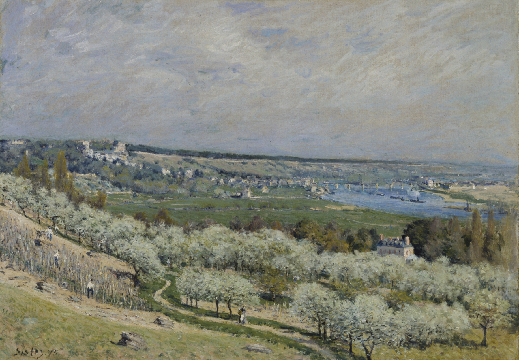 Alfred_Sisley_-_The_Terrace_at_Saint-Germain,_Spring_-_Walters_37992