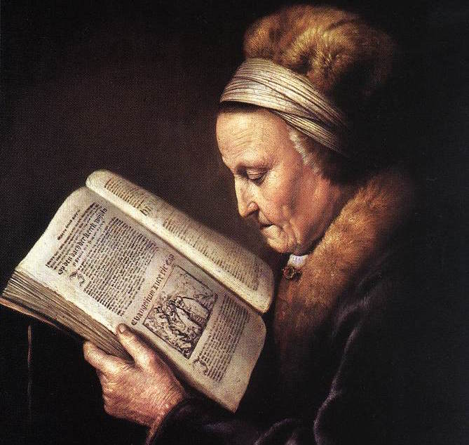 Gerard_Dou_-_Old_Woman_Reading_a_Bible_-_WGA06639