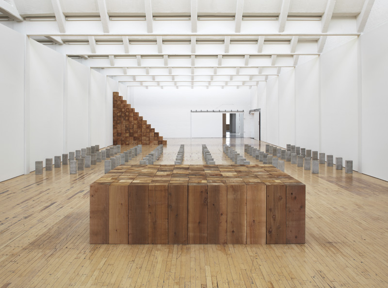 The Plain Inescapable There Ness Of Carl Andre S Sculptures
