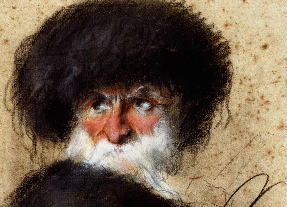 Orłowski_Old_man_in_a_fur_hat