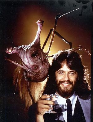 Rob Bottin and the Norris Spiderhead.