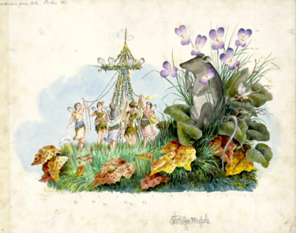 Proteus_1887_The_Elfin_May-Pole_Float