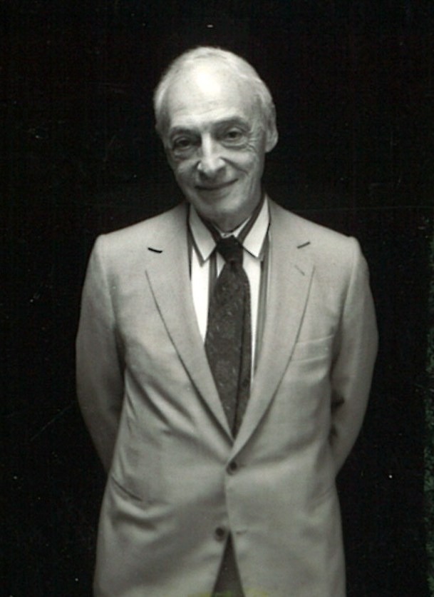 Saul Bellow backstage -- October 1988