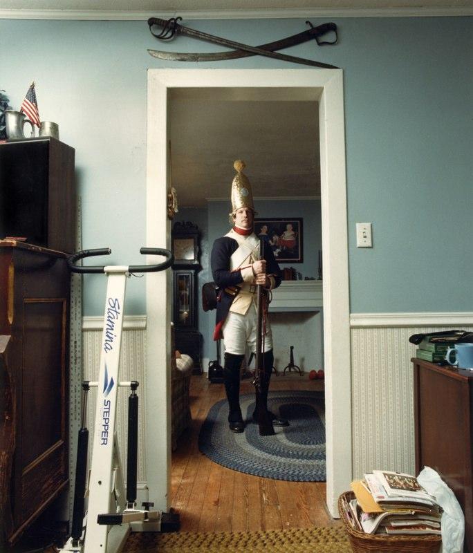 Todd Gerding as Hessian Soldier, Richboro, PA, 1991