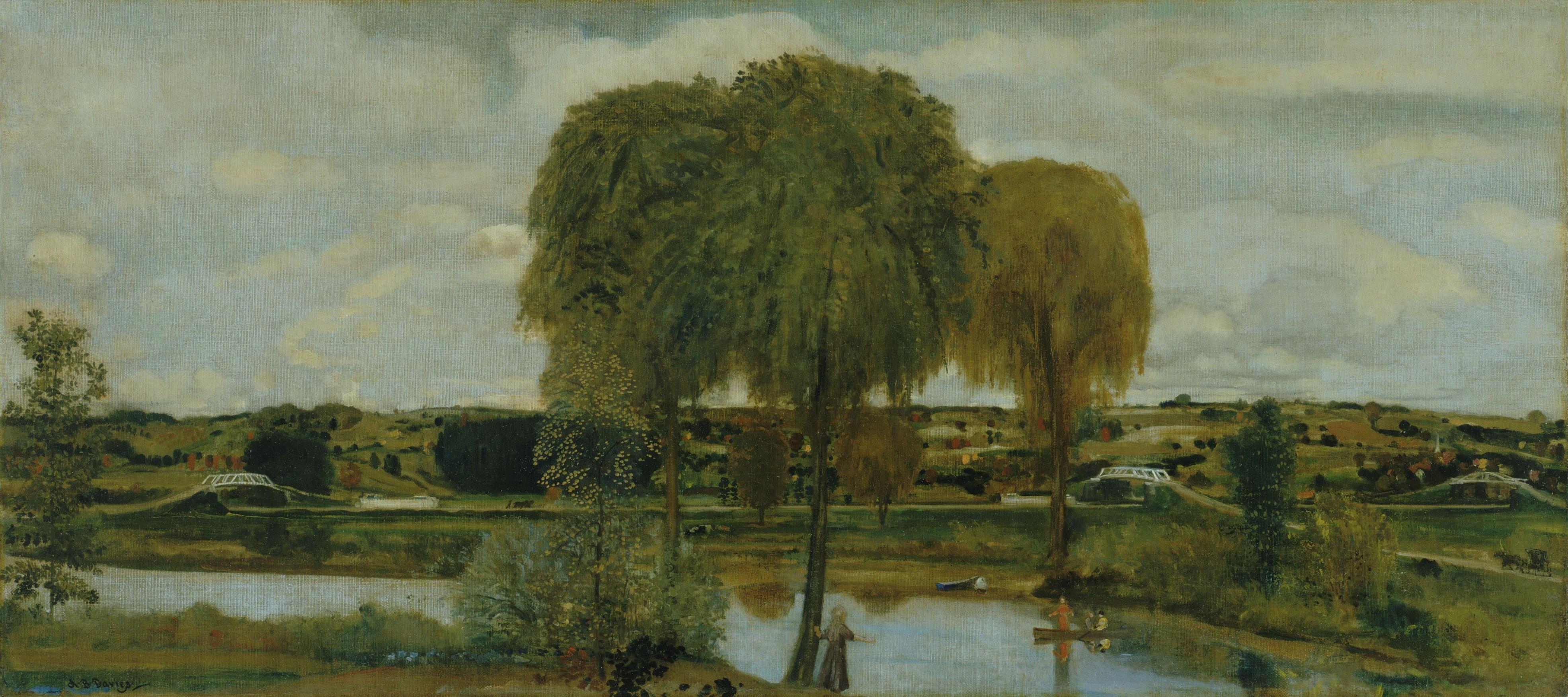 Arthur_B._Davies_-_Along_the_Erie_Canal_-_