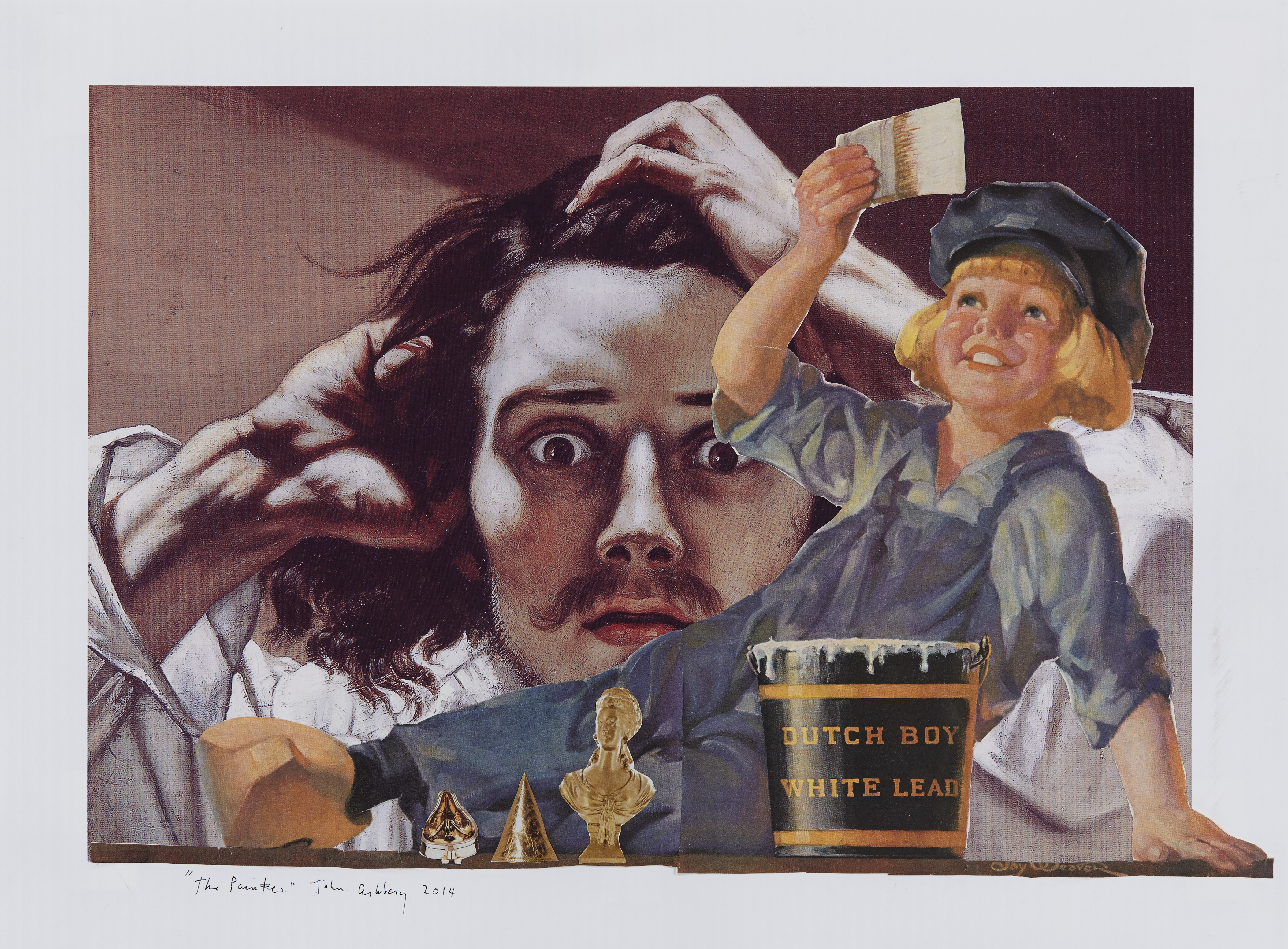 Ashbery_The Painter_2014_collage_15x20.5in_300dpi
