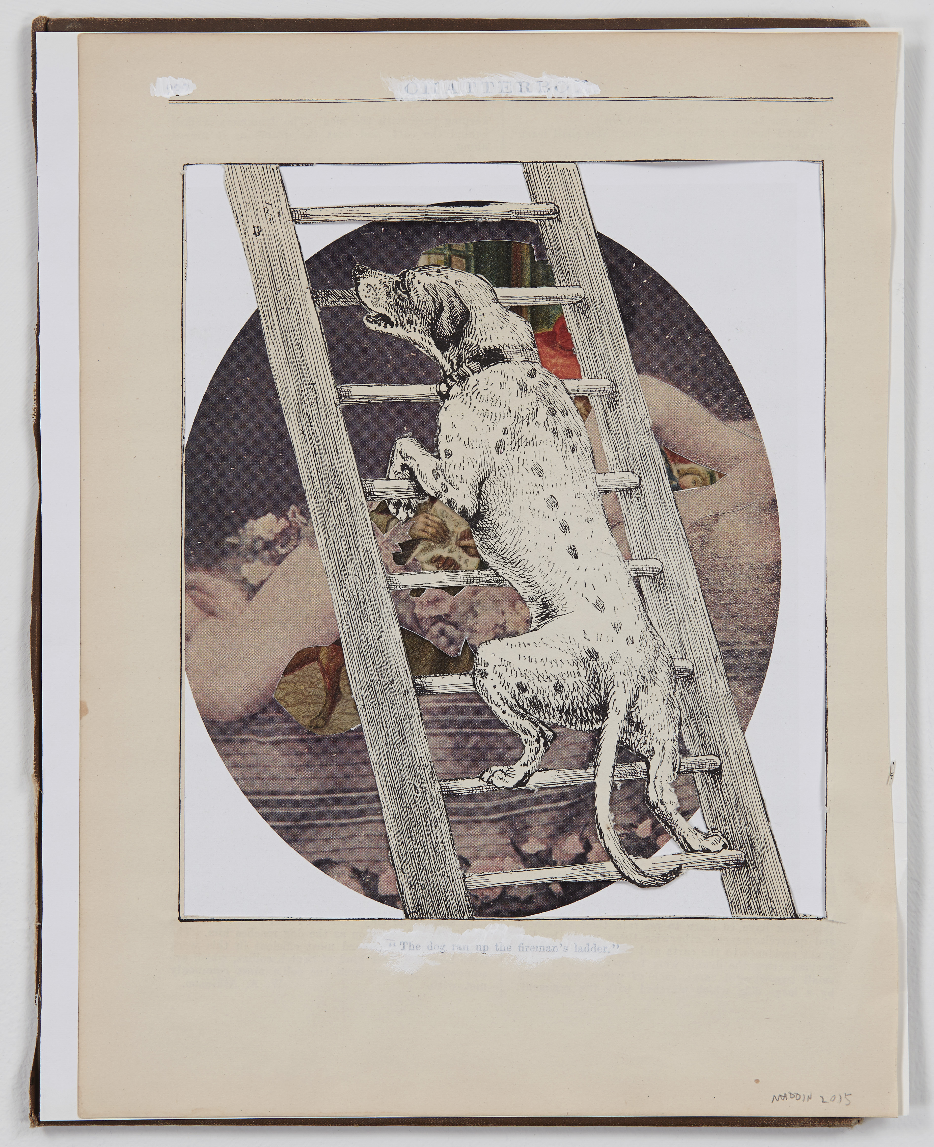 Maddin_Untitled (#07)_2015_collage  and whiteout on bookcover_9.875x7.75in_300dpi