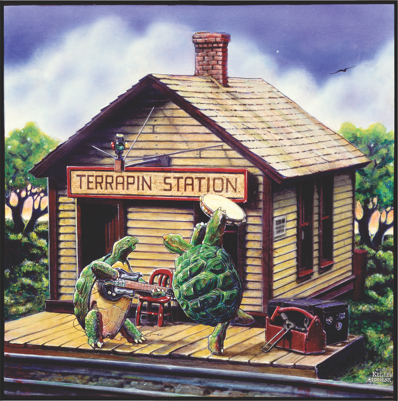 139 terrapin station painting