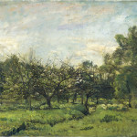 August in the Apple Orchard