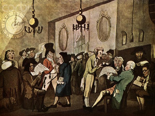 Edward Lloyd's Coffee House, William Holland (1789)