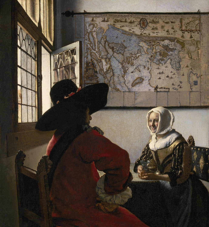 Johannes_Vermeer_-_De_Soldaat_en_het_Lachende_Meisje_-_Google_Art_Project