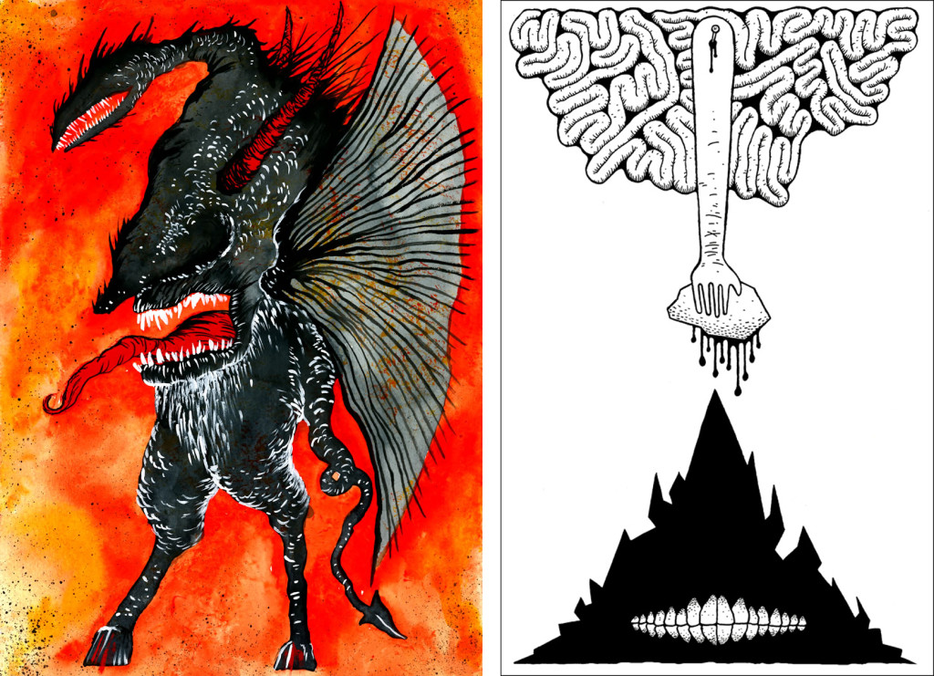 Illustrations by Matt Kish from The Revelator.