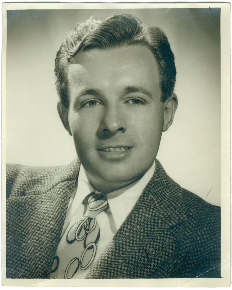 Bradbury in a 1945 publicity photo.