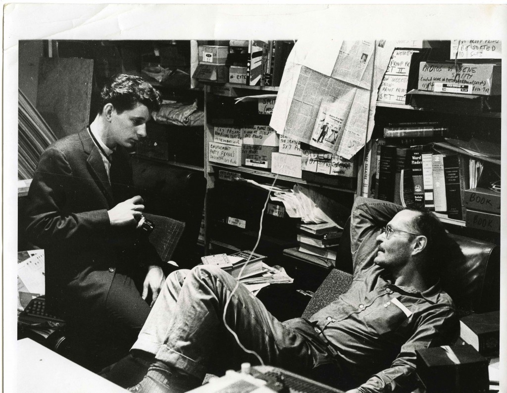 Larry Clark and W. Eugene Smith, ca. 1962.